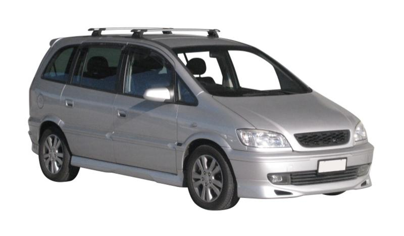 Aero Through Bar Package For Holden Zafira Prorack Australia